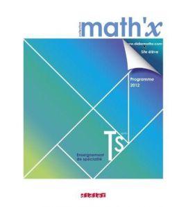 Mathx Terminale Specialite Manuel