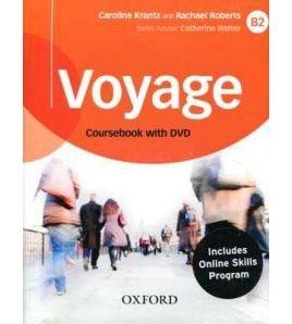 Voyage B2 student + woorbook+key+oosp+dvd