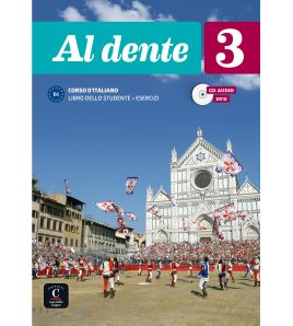 Al Dente 3 studente + quaderno esercizi + cd+ video