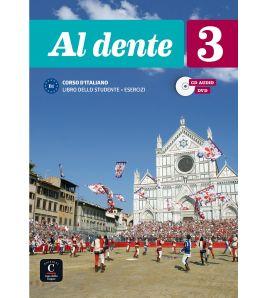 Al Dente 3 studente + quaderno esercizi + cd+ video