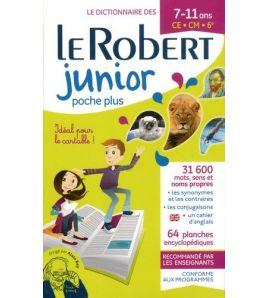 Dictionnaire Robert Junior Poche Plus 2020
