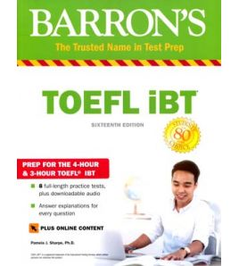 TOEFL IBT Barron's  16º ed.