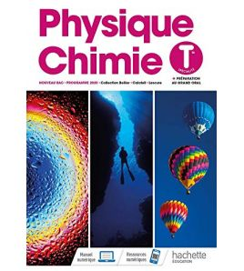 Physique Chimie Terminale Programme 2020