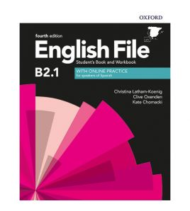 English file B2.1 Intermediate Plus Student+ wb with key 4th