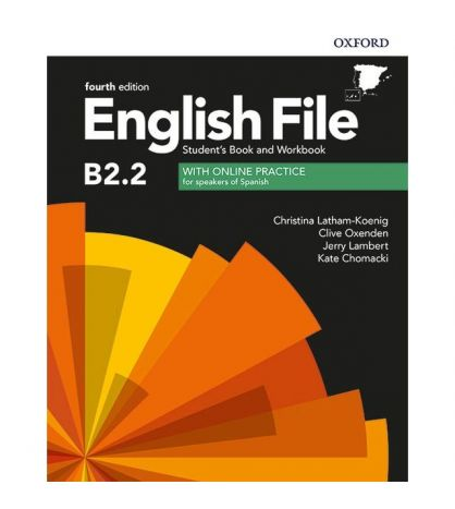 English File B2.2. Student's Book and Workbook 4th Edition