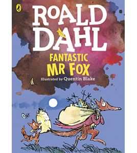 Fantastic Mr Fox with colour illustrated Blake
