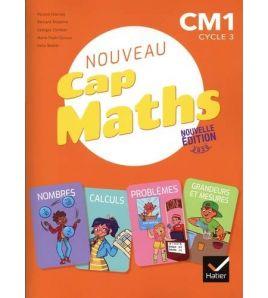 Nouveau Cap Maths CM1 Manuel + Grandeurs + Mesures