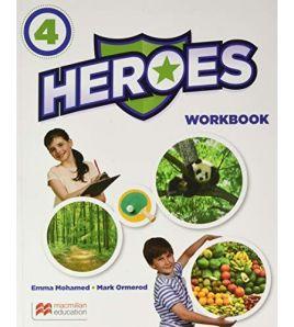 Heroes 4 Activity Book + Grammar Practice