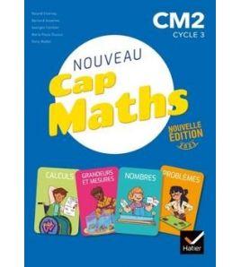Nouveau Cap Maths CM2 Manuel + Geometrie+ Dico