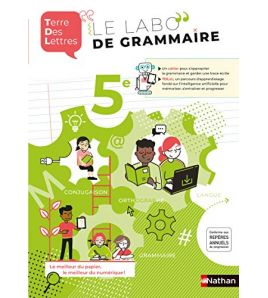 Le Labo de Grammaire 5eme Terre des Lettres 2020