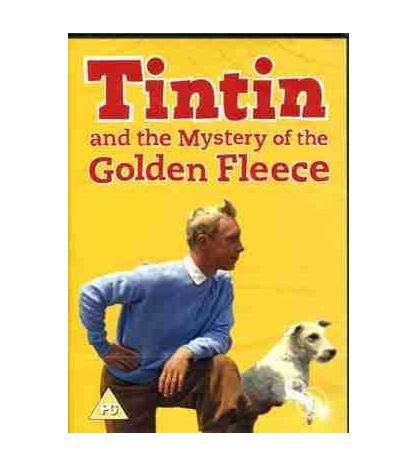 Tintin and the Mystery of the Golden Fleece DVD