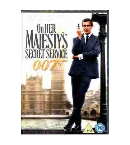 James Bond : On Her Majesty ' s Secret Service DVD