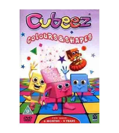 Cubeez - Colour & Shapes DVD