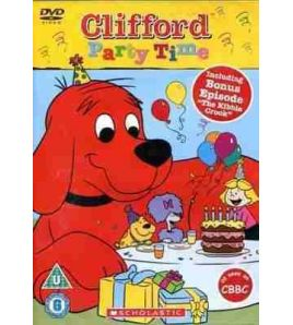 Clifford: Party Time DVD Video
