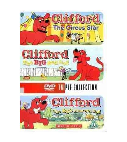 Clifford The Big Red Dog/The Big Hearted Dog/The Circus Star DVD