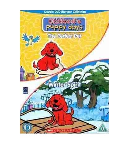 Clifford Double : Partect Pet and Winter Spirit DVD Video