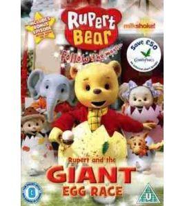 Rupert and the Gigant Egg Race DVD