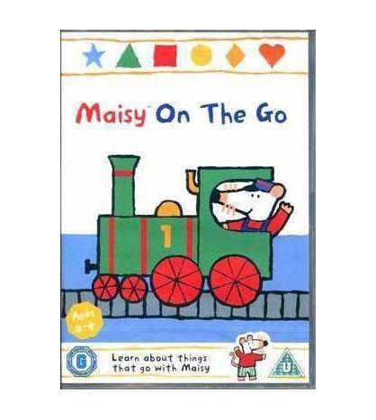 Maisy On the Go DVD