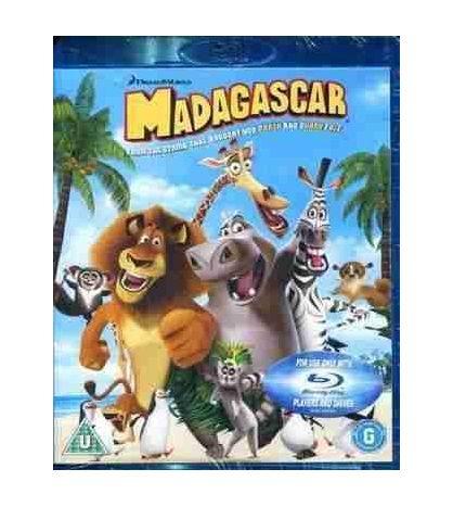Madagascar Blu-ray Disc
