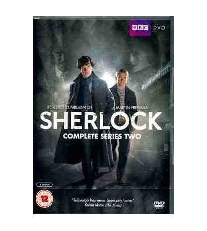 Sherlock Complete Series Two DVD