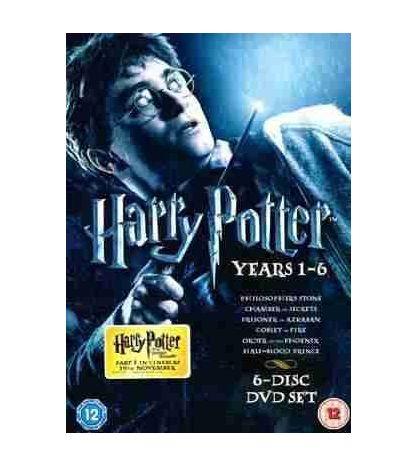 Harry Potter DVD 6 Film ( Stone - Chamber - Azkaban - Globet - Order -Prince )