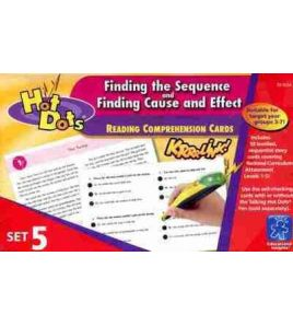 Hot Dots : Reading Comprehension cards : Finding the Sequence