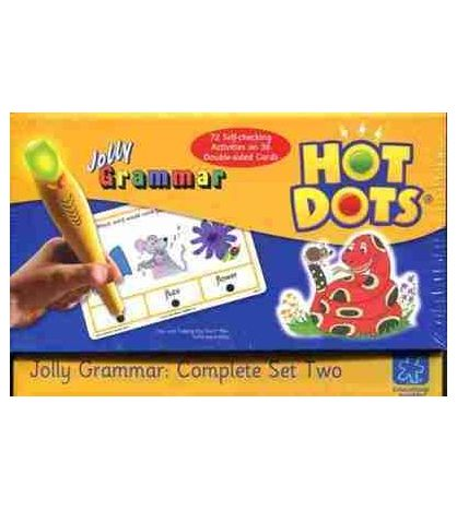 Hot Dots : Jolly Grammar Complete set Two