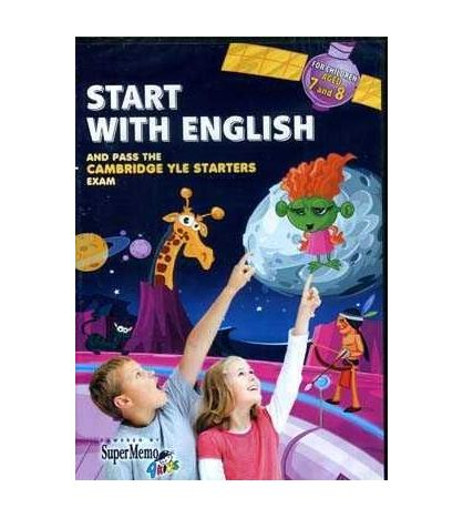 Start with English 7 - 8 aged YLE Starters Exam Cd - rom
