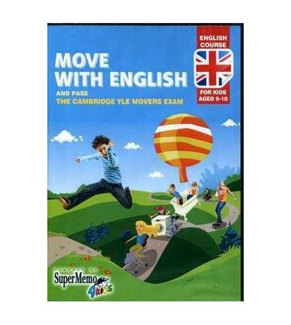 Move with English 9 - 10 aged YLE Movers Exam Cd - rom