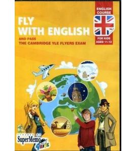Fly with English 11 - 12 aged YLE Flyers Exam Cd - rom