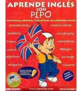 Aprende Ingles con Pipo 3 a 10 años cd rom