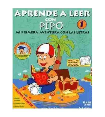 Aprende a Leer con Pipo 1 de 3 a 6 años