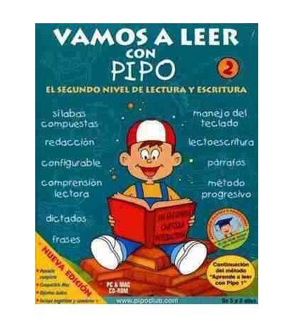 Vamos a Leer con Pipo 2 de 5 a 8 años