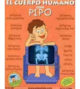 Cuerpo Humano con Pipo de 5 a 12 años