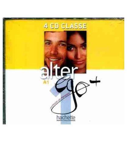 Alter Ego Plus 1 A1 Cd audio ( 4 ) classe